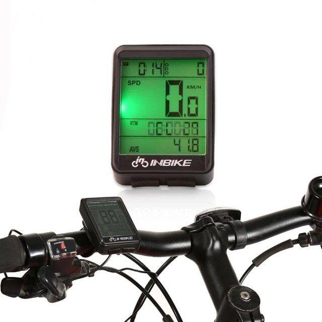 Ciclo Computador Velocímetro Bicicleta Bike Sem Fio Wireless - Foto 4