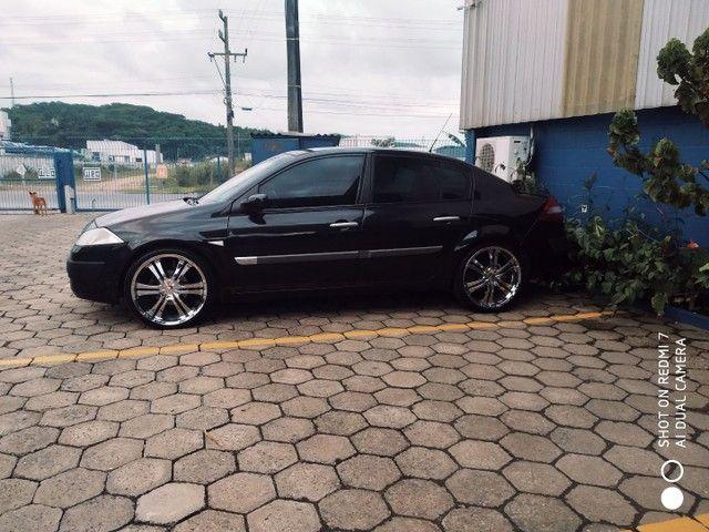 Megane sedan vendo ou troca suv - Foto 3