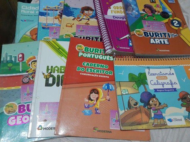 9 Livros do 2º Ano Buriti