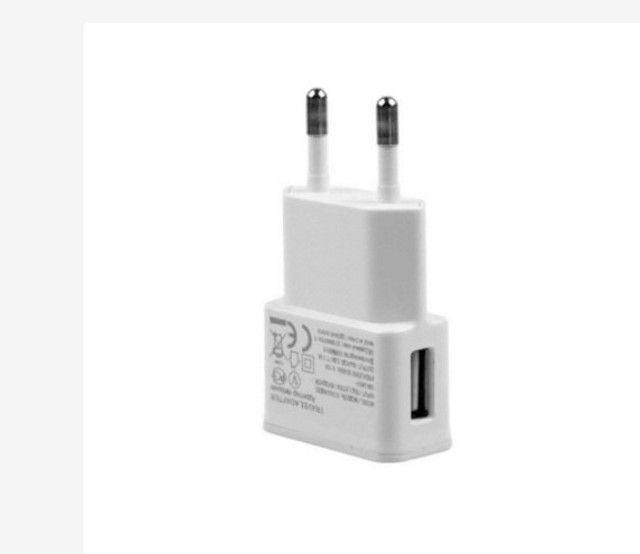 Adaptador Fonte Carregador de Tomada Plug Usb 5V 2A Bivolt Universal R$ 15,00