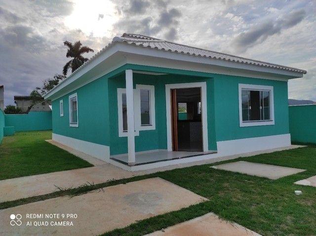 espetacular casa de 3 qrts com terreno inteiro em fino acabamento,carta