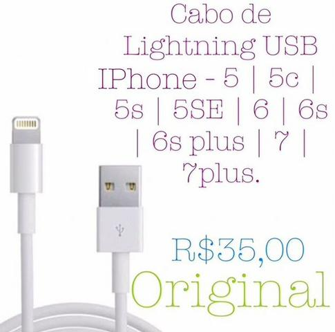 Cabo USB IPhone Original®