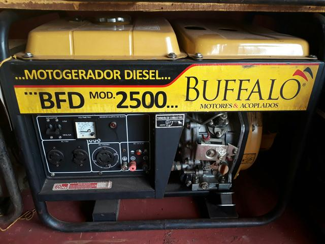Motorgerador diesel 2500