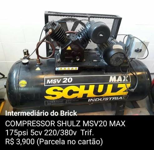 Compressor schulz 175psi