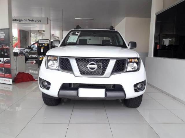 Nissan Frontier 2014 2.5 sv attack 4x4 cd turbo eletronic diesel 4p manual - Foto 3