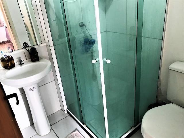 Ótimo apartamento 2 quartos em condomínio fechado com lazer completo - Foto 2