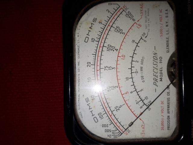 Medidor de Voltagem USA Mod. 110 Bateria 010/15V - Foto 4