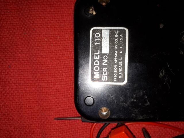 Medidor de Voltagem USA Mod. 110 Bateria 010/15V - Foto 2