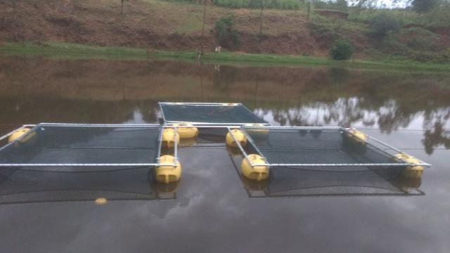 Tanque rede - piscicultura - usado - Foto 3