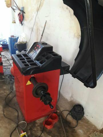 Vendo máquinas para balanceamento é outra para borracharia todas novas - Foto 2