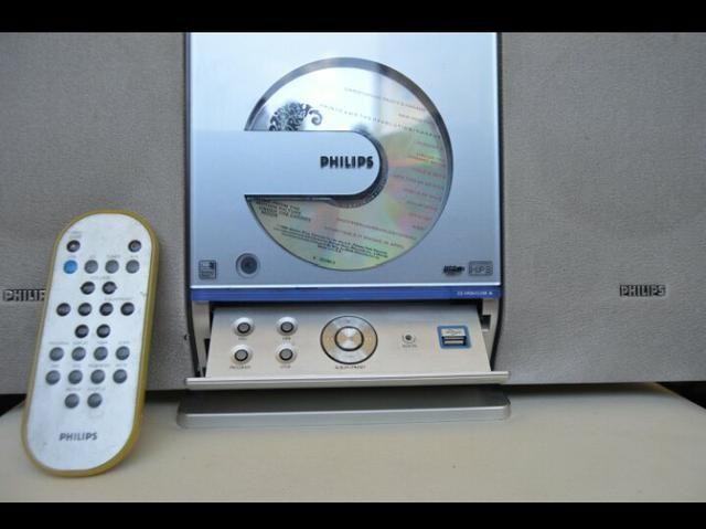 Tocador de CD, rádio, USB - Philips - Foto 2