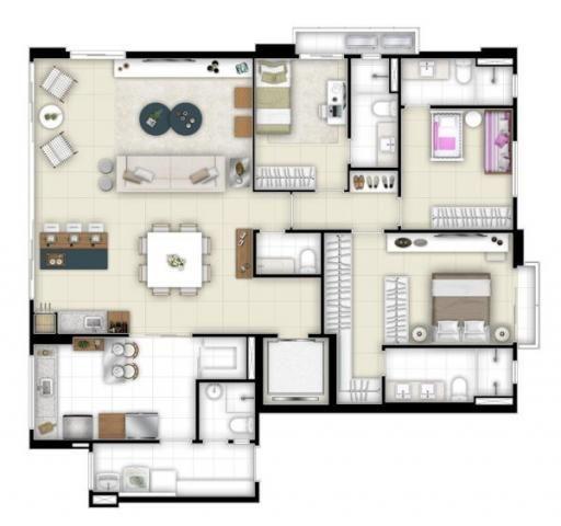 Apartamento  com 3 quartos no Amê Infinity Home - Bairro Setor Marista em Goiânia - Foto 20