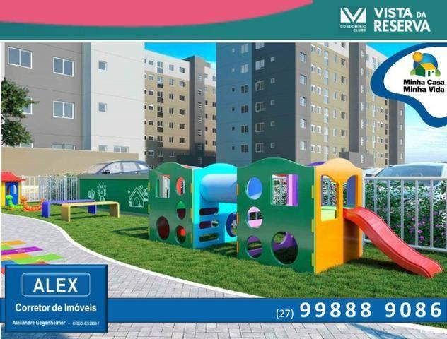 ALX - 46 - Apartamento com 3 Quartos - Entrada Parcelada em 60 meses - Vista da Reserva - Foto 9