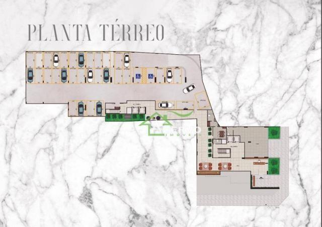Apartamento Garden com 3 dormitórios à venda por R$ 649.900 - Granbery - Juiz de Fora/MG - Foto 4