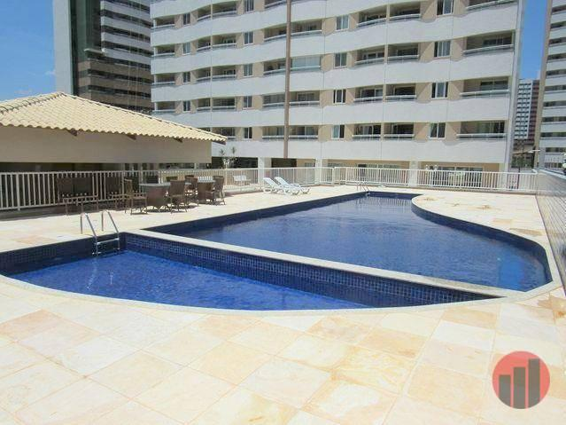 Apartamento todo mobiliado com 2 dormitórios para alugar, 57 m² por R$ 2.000/mês - Cidade  - Foto 4