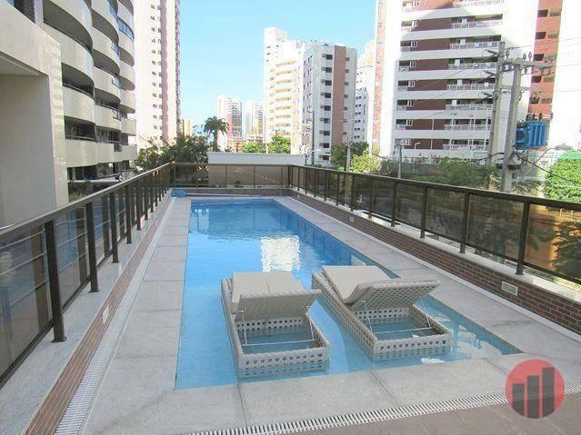 Apartamento com 3 dormitórios para alugar, 92 m² por R$ 2.100/mês - Papicu - Fortaleza/CE - Foto 4