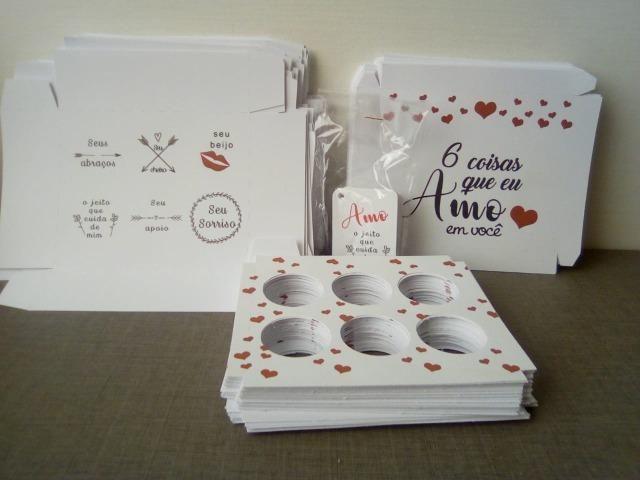 Vendo lote(190) caixas para doces