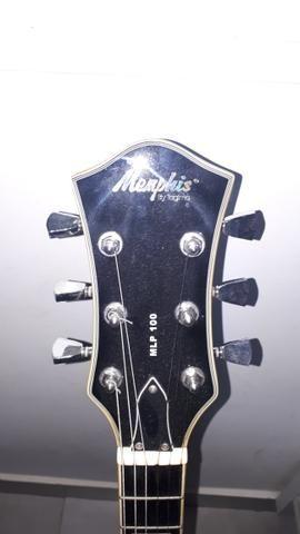 Guitarra les paul memphis tagima com cubo - Foto 5