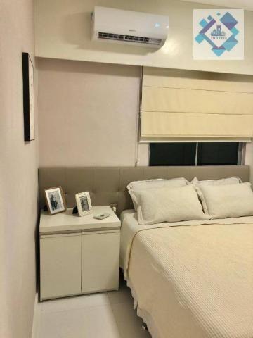 Apartamento com 3 dormitórios à venda, 127 m² por R$ 429.000 - Engenheiro Luciano Cavalcan - Foto 3