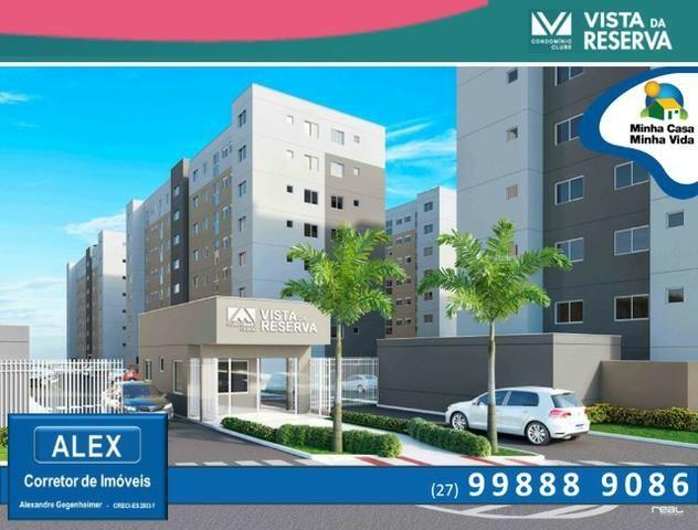 ALX - 46 - Apartamento com 3 Quartos - Entrada Parcelada em 60 meses - Vista da Reserva - Foto 2