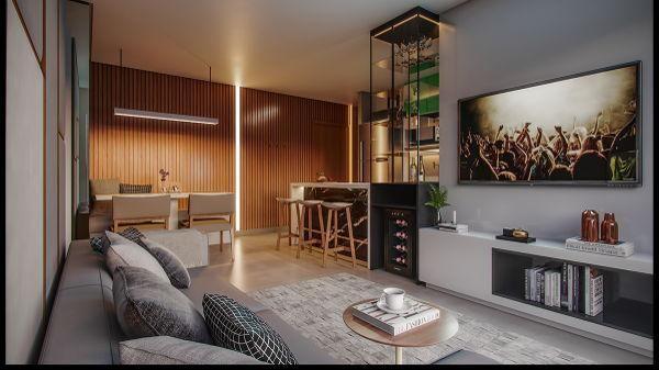 Apartamento  com 2 quartos no ELLO Vaca Brava - Bairro Setor Bueno em Goiânia - Foto 5