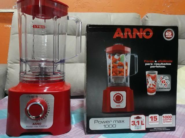 Liquidificador Arno Power Max 1000 Personalizado 3.1 Litros Novo Zerado na Caixa