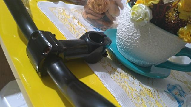 Guidão rise + mesa + manopla
