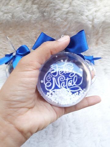 Bola de natal personalizada - Foto 2