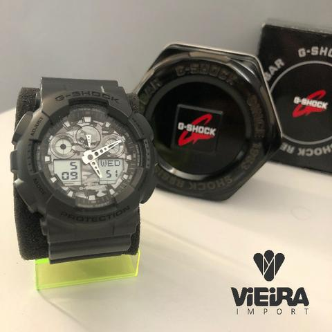 ece37193a23 Relógio Casio G-Shock GA-100 (Original) - Bijouterias