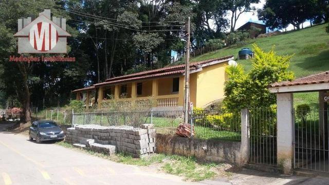 Chácara com escritura, 1450 metros, 02 dormitórios, acesso asfaltado - Foto 13