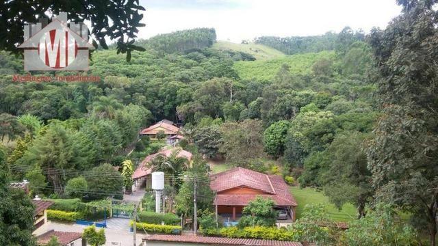 Chácara com escritura, 1450 metros, 02 dormitórios, acesso asfaltado - Foto 4