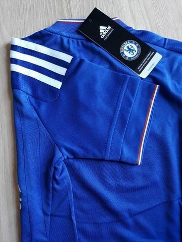 Original Infantil- Camisa Adidas Chelsea Tam 5 6 7 8 anos - Roupas e ... 9adf53fd32dfe