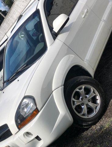 Hyundai Tucson Branca 2014/2015 16V Flex 4P Automático - Foto 2