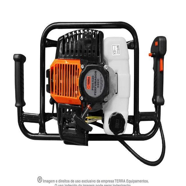 Perfurador De Solo A Gasolina 2,5hp 52cc Terra-psh520