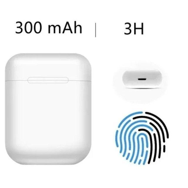 Fone de Ouvido Sem Fio Bluetooth i13s 5.0 Touch - Tws - Foto 4