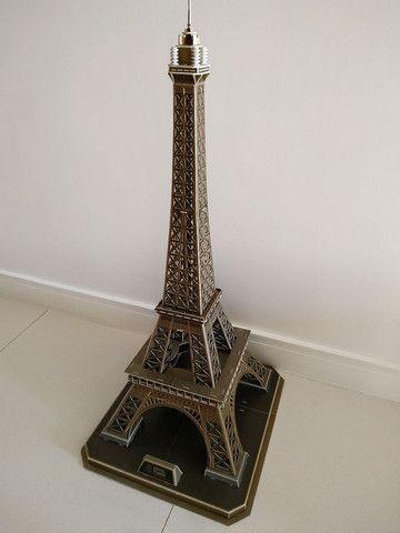 Quebra Cabeça 3D Torre Eiffel - Cubic Fun - Foto 3
