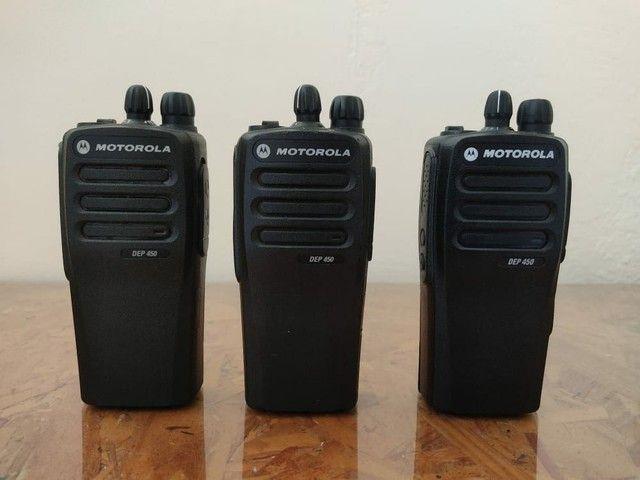 Rádio DEP450 Motorola Preço de 2 unidades - Foto 2