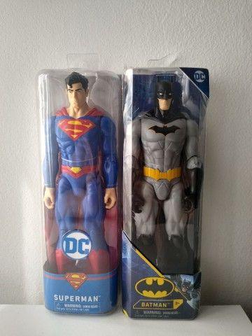 Bonecos liga da justiça / Batman/ Superman