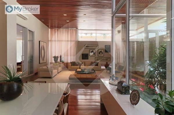 Casa com 4 dormitórios à venda, 576 m² por R$ 5.200.000,00 - Residencial Alphaville - Goiâ - Foto 4
