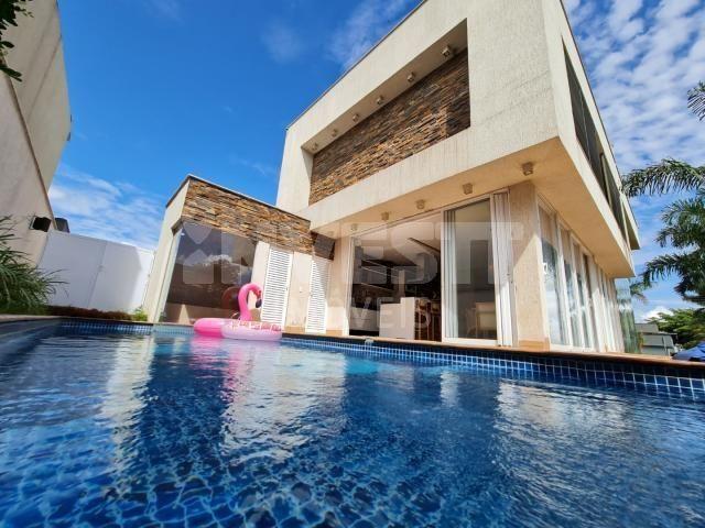 Casa de condomínio à venda com 4 dormitórios em Jardins madri, Goiânia cod:621431