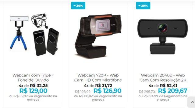 Webcam de Qualidade - Home office com uma web cam de primeira - Foto 2