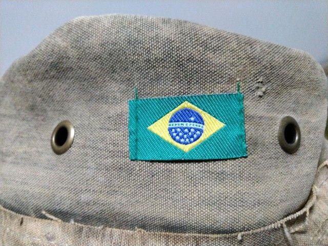 Chapéu de lona de caminhão - Foto 4