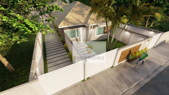 Lançamento! Casas lineares 3 quartos, com piscina/ varanda gourmet, Floresta das Gaivotas/ - Foto 8