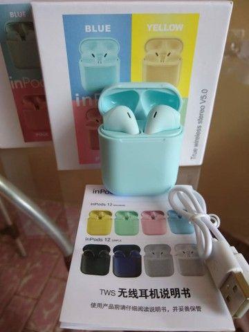 Inpods 12 Onze Inpod I12 Tws Fones De Ouvido Sem Fio Airpod I12s Original Bluetooth - Foto 3