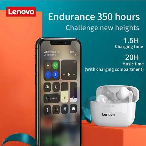 Fone de Ouvido Lenovo XT90 Preto Novo Lacrado - Foto 3
