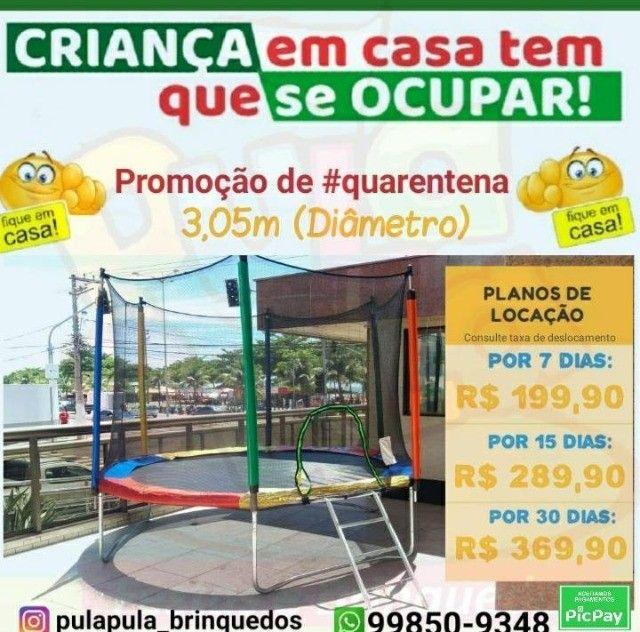 Promoção Aluguel de Pula Pula por 7, 15 ou 30 dias em sua casa, quintal ou apartamento  - Foto 2