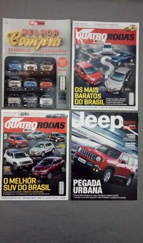 Revista Quatro Rodas Ano 2015 + Brindes - Foto 4