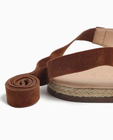 Alpargata Lace Up Camurça Shoes, N°36 - Foto 2