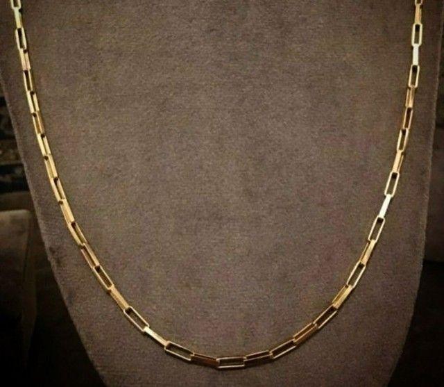 Cordões e correntinhas - piastrine ou cártier em ouro 18 quilates derretido.