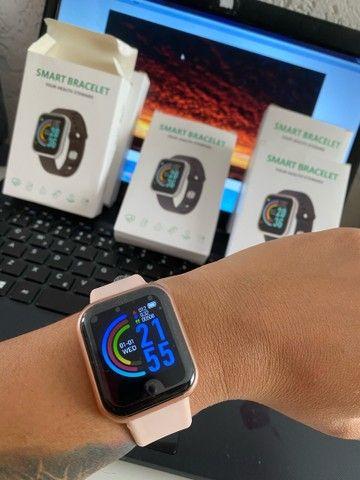 Smartwatch Y68 / D20   Bluetooth / Usb / Monitor Pulseira Relógio Inteligente - Foto 2